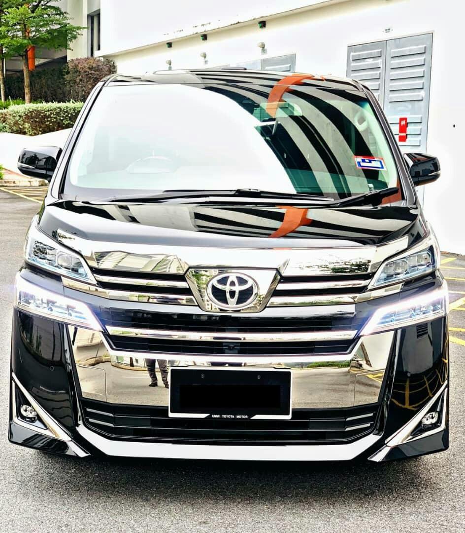 Toyota Vellfire 2.5 SAMBUNG BAYAR