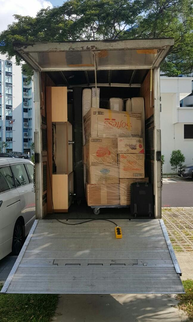 Transportation Lorry mover service call 92385843 JohnsionMover