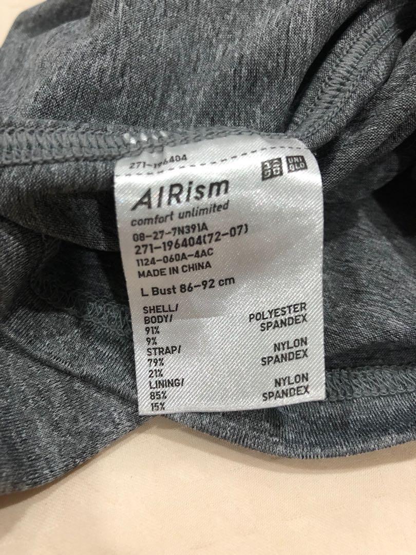 Uniqlo Women Airism Bra Camisole Size L