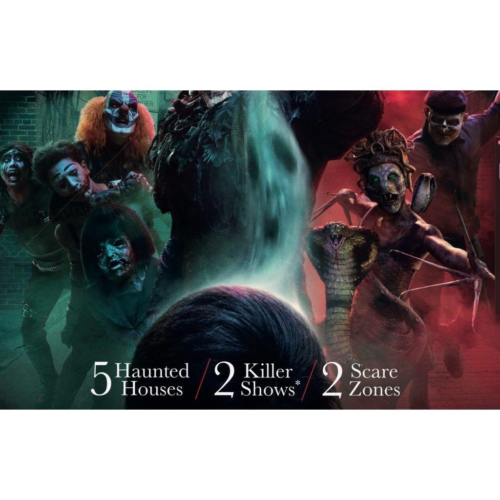 USS Universal Studios Singapore  HHN9 - Halloween Horror Nights 9 ticket