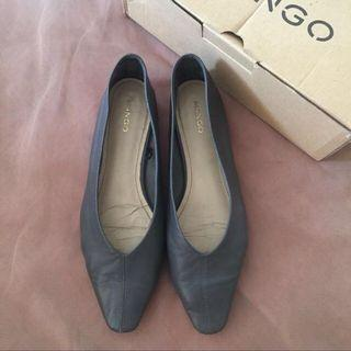 Mango Leather Shoes