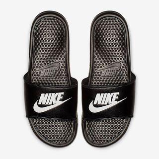 【全新正版】Nike Benassi 男款拖鞋 (尺碼US12附鞋盒)
