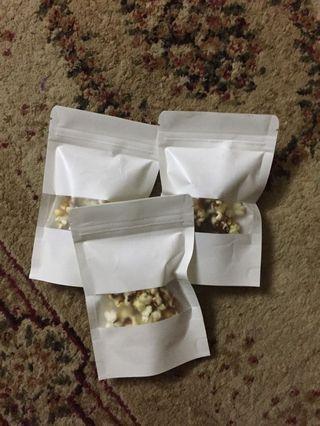 Doorgift/goodiesbag pop corn rm0.90