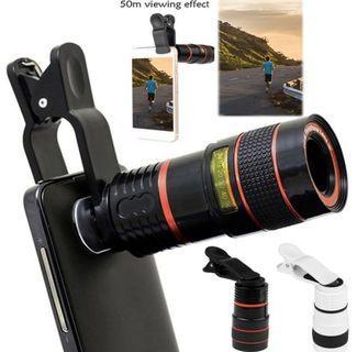 Telescope Lens Smartphone Zoom Lenses Camera