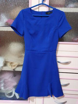 MDS Dress Electric Blue