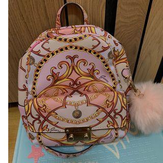 GUESS全新粉色中小款後背包