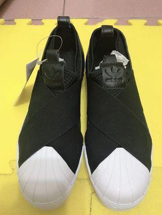 ADIDAS SUPERSTAR Slip On W 蹦帶鞋 S81337