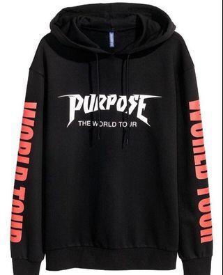 (BNWT) H&M Purpose Tour Hoodie ORIGINAL