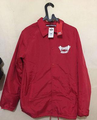 Jacket Vans x sankuanz windbreaker Red Size M