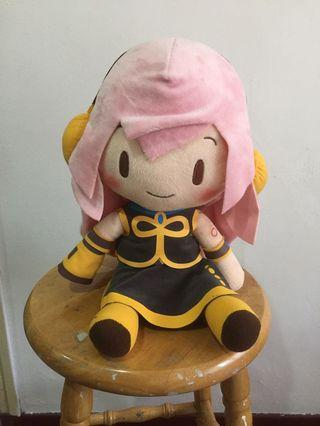 Vocaloid Luka Hatsune Miku Chibi Cute Soft Plush Anime Figure