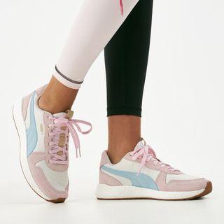 PUMA NRGY NEKO RETRO blue and pink sneakers