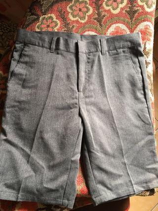 Gray Short Pants