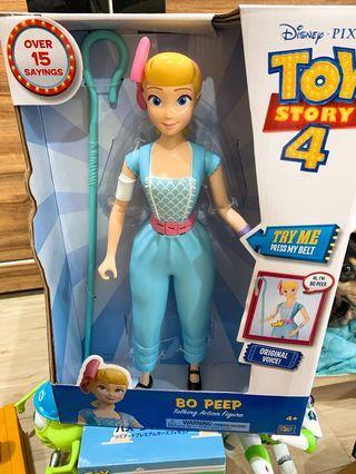 玩具總動員 牧羊女 新品  有聲音