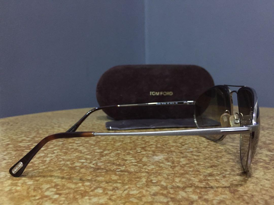 100% AUTHENTIC:     TOM FORD                Nicholai Aviator Sunglasses