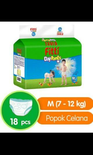 Pampers fitti M