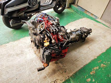 Subaru EJ20 with 5 speed transmission