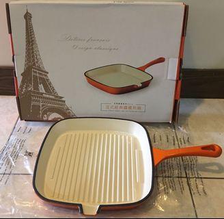 法式經典鑄鐵煎鍋23cm