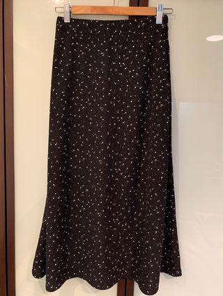 Bello Store 黑色星星裙
