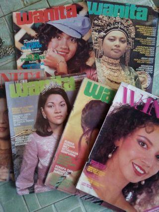 Majalah wanita 80 an