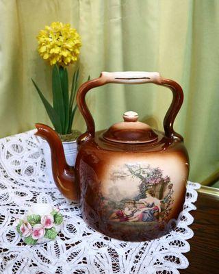 English Ceramic Kettle