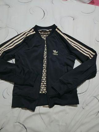 Adidas 黑金外套 正品