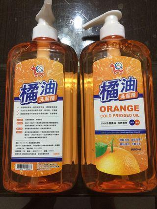 廚房好幫手  橘油洗潔精 1000 ml
