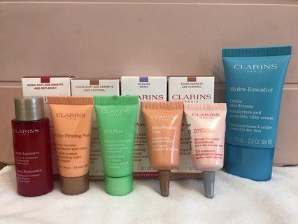 CLARINS 肌膚保養旅行6件組