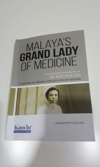 [JACQUELYN SOO] Malaya's Grand Lady of Medicine