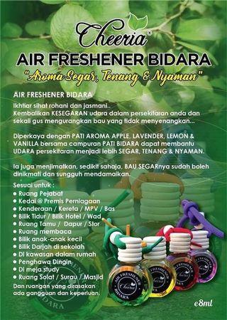 Minyak Wangi Air Freshner Bidara Cheeria