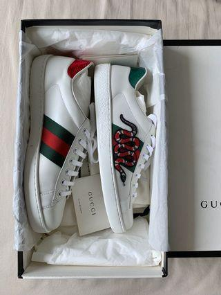 Gucci Ace Snake Sneakers