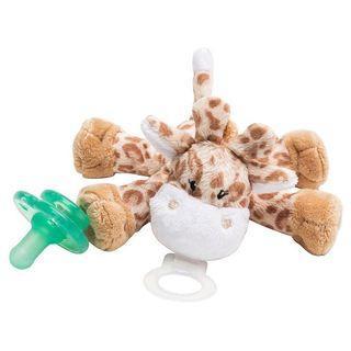 造型安撫奶嘴/玩偶-棕色長頸鹿