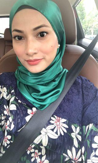 Hijab styling for events / weddings