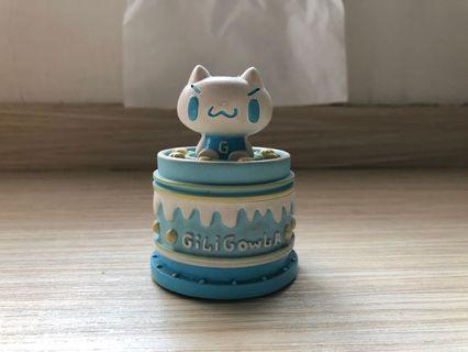 嘰哩呱啦超可愛小收納蛋糕裝飾盒