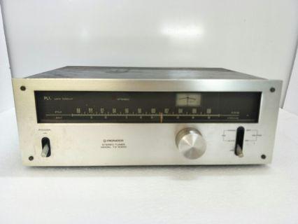 Vintage Pioneer TX-5300 Analog Stereo AM/FM Tuner