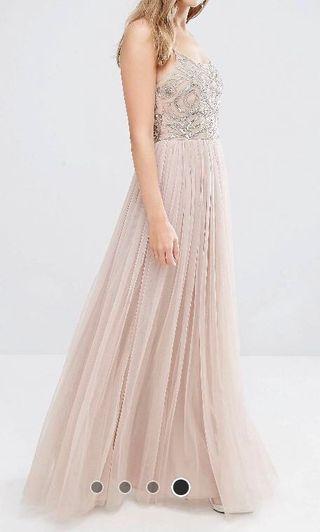 MAYA bridesmaids embellished tulle dress