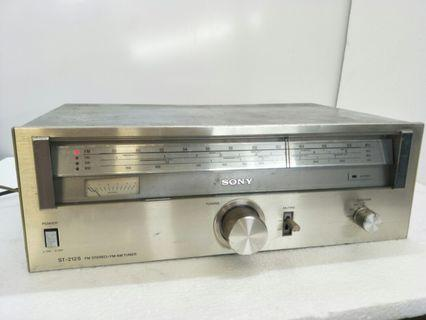Sony ST-212S FM/AM Stereo Tuner