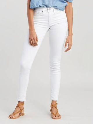 DIVIDED H&M WHITE JEAN