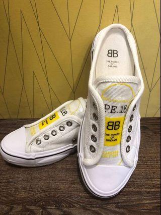 BB休閒帆布拖鞋(37碼)有鞋盒全新