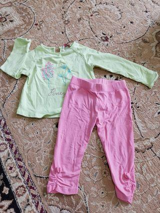 Poney Set  1-2yrs