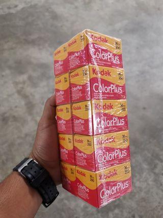 Fresh Oct 2021 Kodak Colorplus 200