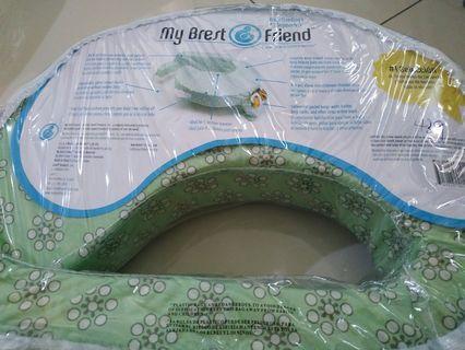 Breastfeeding pillow green