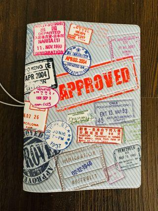 Country Stamps Passport Holder