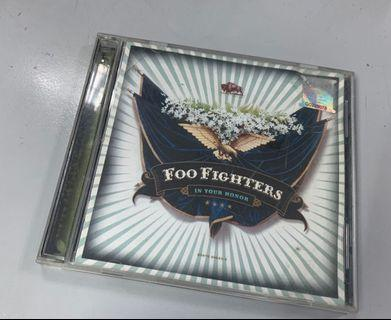 FOO FIGHTERS IN YOU HONOR DOUBLE CD