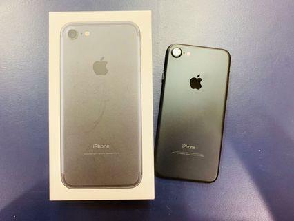二手美機iphone 7   128g消光黑