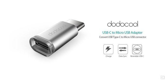 Dodocool Micro USB to Type-C Adapter Android Charger