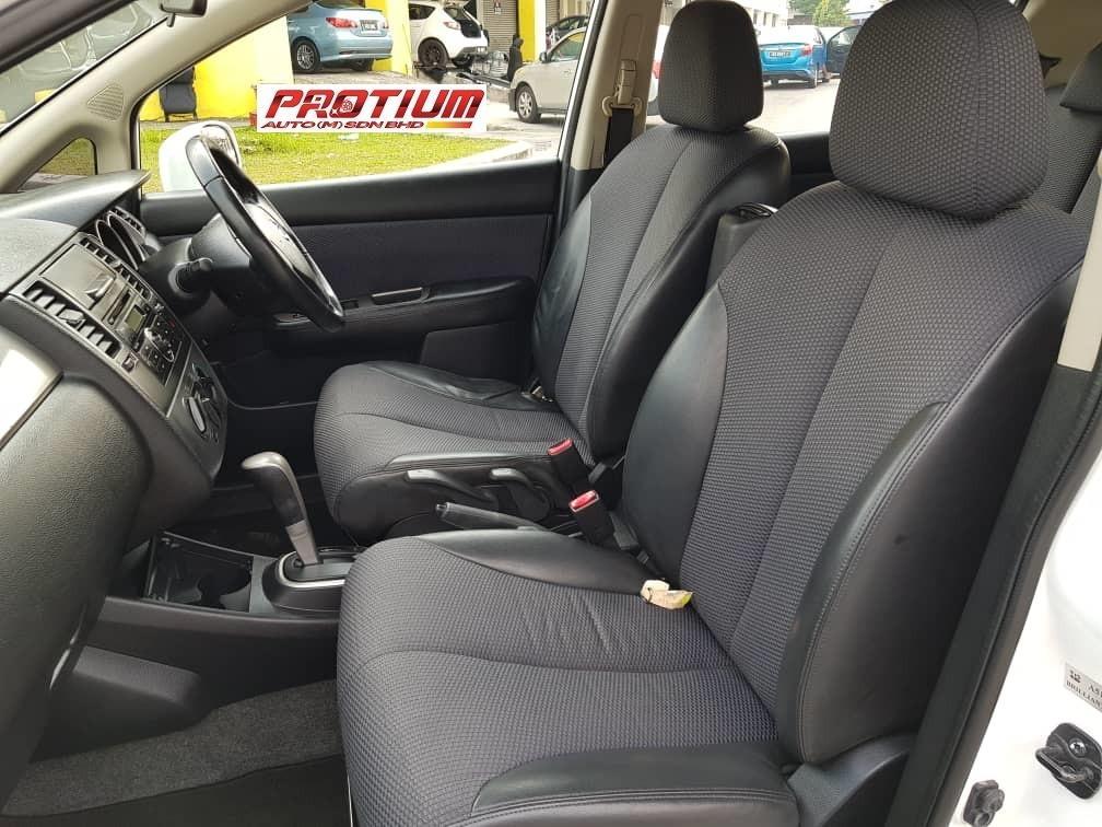 2008 Nissan LATIO H/Back 1.6 (A) Muka 1K Loan Kedai
