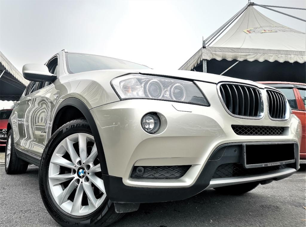 2014 BMW X3 2.0 xDrive20i SUV (A)[ONE OWNER][55,000KM ONLY][F/SERVICE RECORD][LIKE NEW][PROMOTION] 14