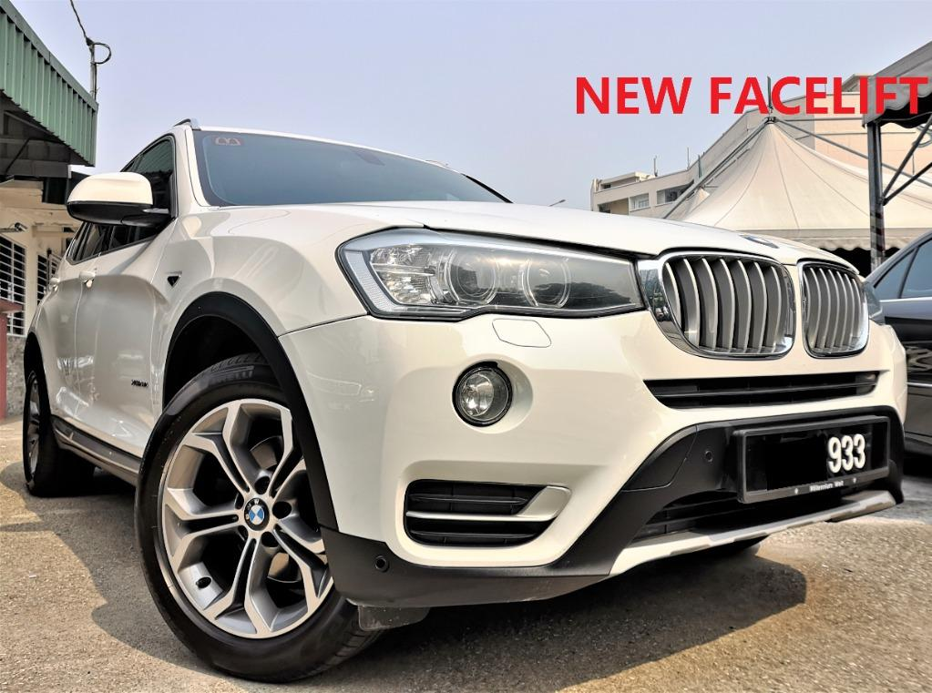 2015 BMW X3 2.0 xDrive20i SUV (A) [ONEW OWNER][FULL SERVICED RECORD][LIKE NEW][PROMOTION] 15