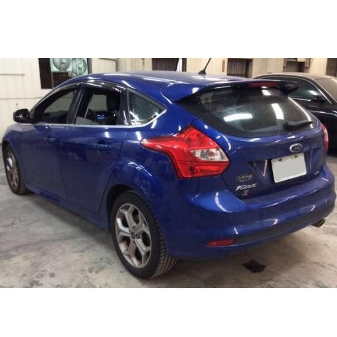 【全台最低價】2015年 FORD福特 FOCUS S 2.0柴油版 「保證無重大事故泡水」