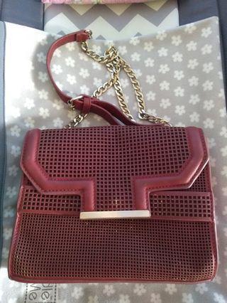 Sling bag merah (net)